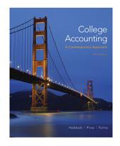 College Accounting (A Contemporary Approach)