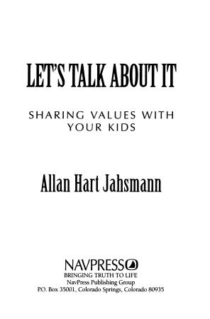 Let s Talk about it PDF