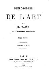 Philosophie de l'art: Volume 2