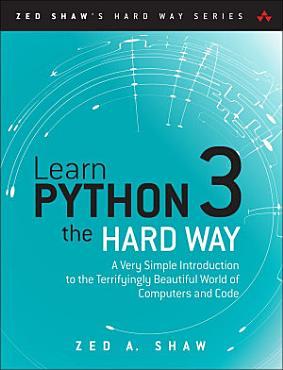 Learn Python 3 the Hard Way PDF