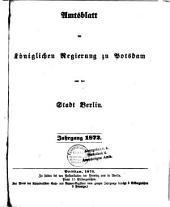 Amtsblatt der Regierung in Potsdam: 1872
