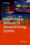 Introduction to Materials for Advanced Energy Systems