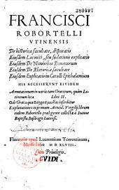 Francisci Robortelli Vtinensis De historica facultate, disputatio