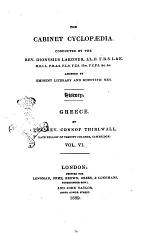A History of Greece by the Rev. Connop Thirlwall