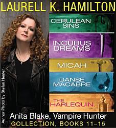 Laurell K Hamilton S Anita Blake Vampire Hunter Collection 11 15 Book PDF