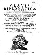Clavis diplomatica