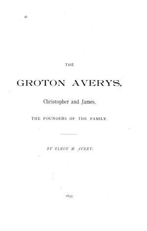 The Groton Averys