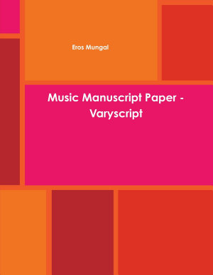 Music Manuscript Paper   Varyscript