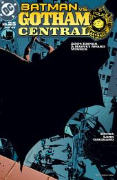 Gotham Central (2002-) #25
