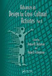 Advances in Design for Cross-Cultural Activities: Part 2