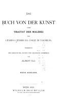 Das Buch von der kunst PDF