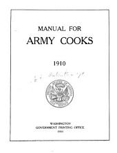 Manual for army cooks, 1910