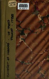 Le petit poucet, ou L'orphelin de la forêt: drame en cinq actes et en prose, mêlé de chants, pantomime et danses
