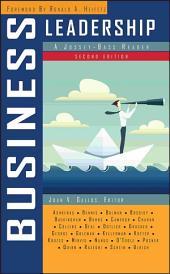Business Leadership: A Jossey-Bass Reader, Edition 2
