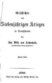Geschichte des Siebenjährigen Krieges in Deutschland: 1759 - 1763, Volume 2