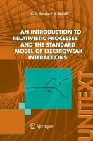 An introduction to relativistic processes and the standard model of electroweak interactions PDF