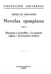 Novelas ejemplares: Volumen 2