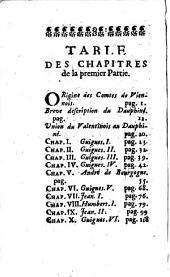Histoire genealogique ... des Dauphins de Viennois