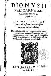 Antiquitatum Rom. libri XI