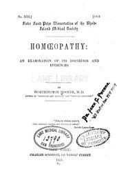 Homœopathy