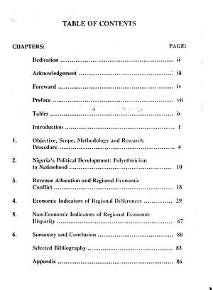 Regional Economic Disparity and Conflict in Nigeria   1960 1967  PDF