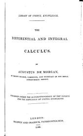 The differential and integral calculus. [Followed by] Elementary illustrations of the differential and integral calculus