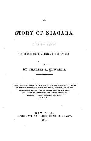 A Story of Niagara