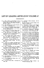 The Central Law Journal: Volume 67; Volume 1908