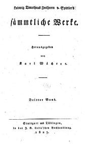 Ludwig Timotheus Freiherrn v. Spittler's Sämmtliche Werke: Bände 3-4