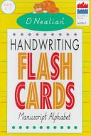 D Nealian Handwriting Flash Cards Manuscript Alphabet Book PDF