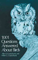 1001 Questions Answered about Birds PDF