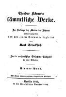 Theodor K  rner s s  mtliche Werke PDF