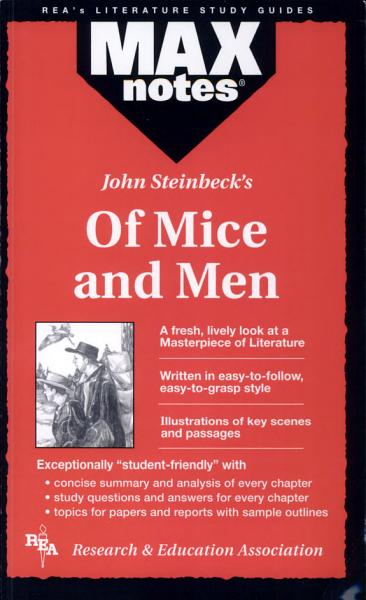 Download Of Mice and Men  MAXNotes Literature Guides  Book