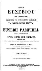 Patrologiæ cursus completus: seu, Bibliotheca universalis, integra, uniformis, commoda, oeconomica omnium SS. patrum, doctorum, scriptorumque ecclesiasticorum. Series græca, Volume 22