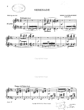 Serenade in B♭ Minor, Op. 3: Issue 5