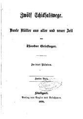 Zwölf Schicksalswege: Bunte Blätter aus alter und neuer Zeit. In drei Bänden, Band 2