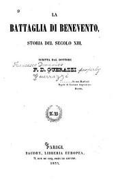 La battaglia di Benevento: storia del secolo xiii, Volumi 1-2