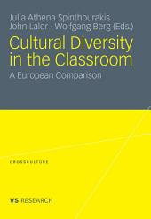 Cultural Diversity in the Classroom: A European Comparison
