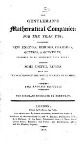 The Gentleman's Mathematical Companion: Volume 1