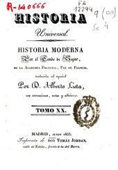 Historia moderna: Volumen 20
