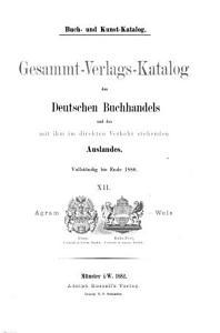 Buch  un Kunst Katalog  Verlags Kataloge der Verleger der L  nder der   sterreichisch Ungarischen Krone  3 v    PDF