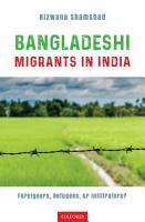 Bangladeshi Migrants in India PDF