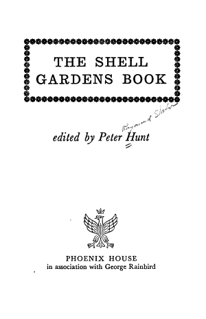 The Shell Gardens Book