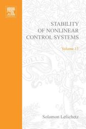 Stability of Nonlinear Control Systems