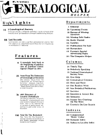 The Genealogical Helper PDF