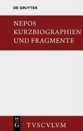 Kurzbiographien und Fragmente: Lateinisch und deutsch