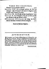 Traité ou dissertations sur plusieurs matières féodales: Volume4