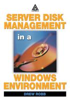Server Disk Management in a Windows Environment PDF