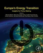 Europe's Energy Transition: Insights for Policy Making