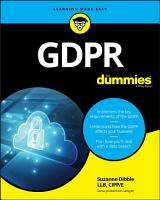 GDPR For Dummies PDF